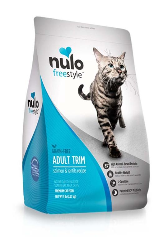 NULO - CAT GF ADLT TRIM SLMN 5#