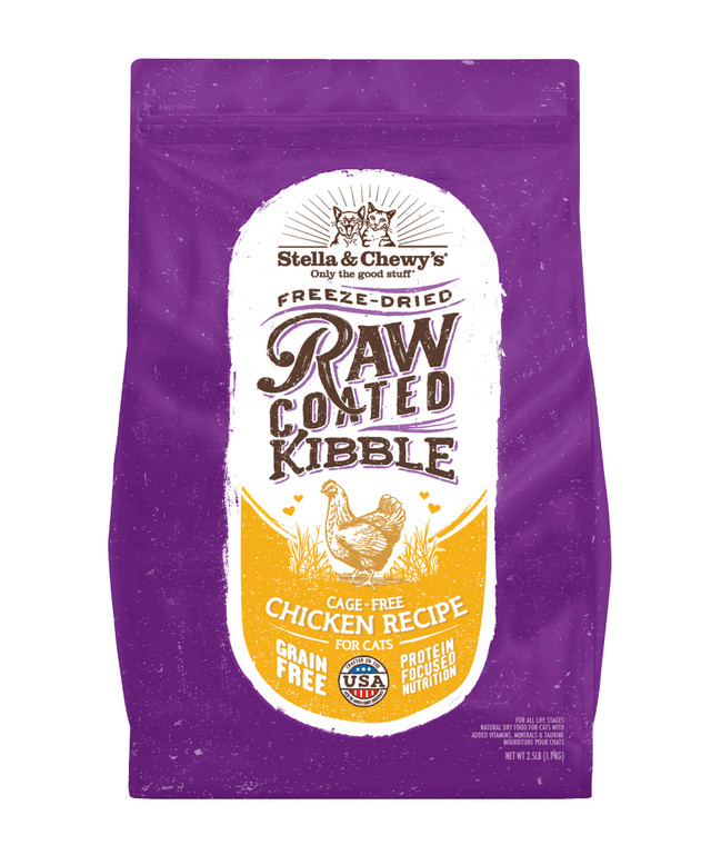 S&C CAT RAW COATED CAGE-FREE CHK 5#