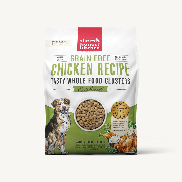 THK WHOLE FOOD CLUSTERS CHICKEN GF 20#