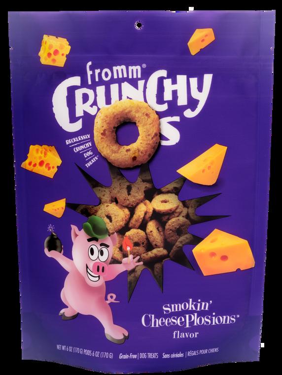 FROMM CRUNCHY O'S SMOKIN CHEESE 6OZ