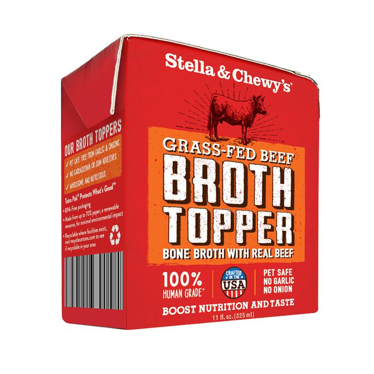 S&C BEEF BROTH TOPPER 11OZ SINGLE