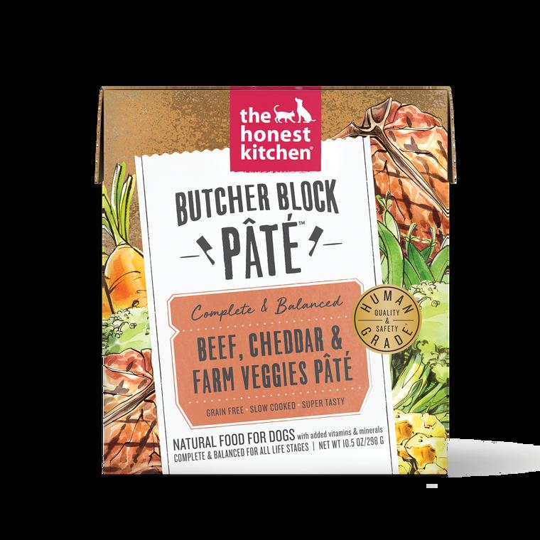 THK BUTCHER BLOCK BEEF, CHEDDAR & FARM VEGGIES 10.5OZ SINGLE