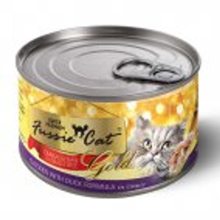 FUSSIE CAT CHICKEN/DUCK GRAVY 5.5OZ CASE