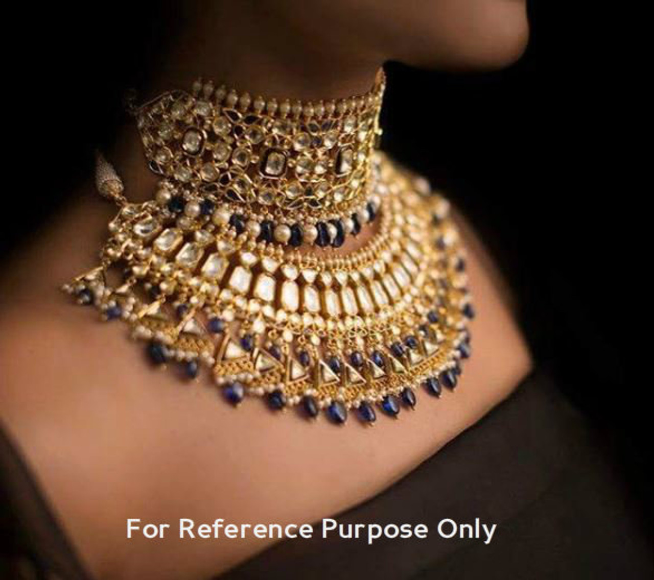 Buy Heavy Kundan Bridal Jewellery Set Free Shipping Worldwide