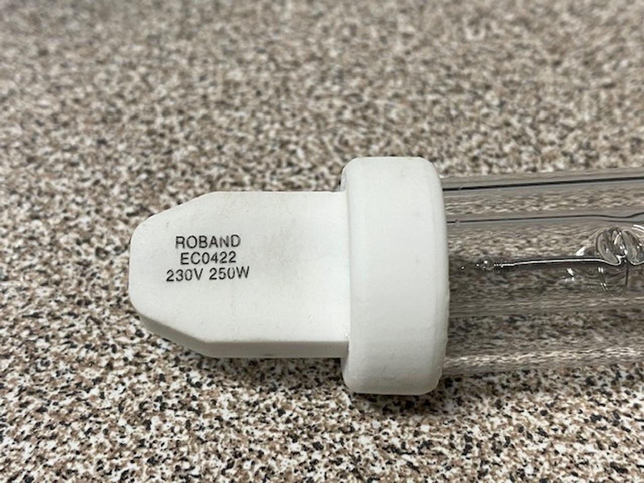 Roband EC0422 heat lamp globe - P0013