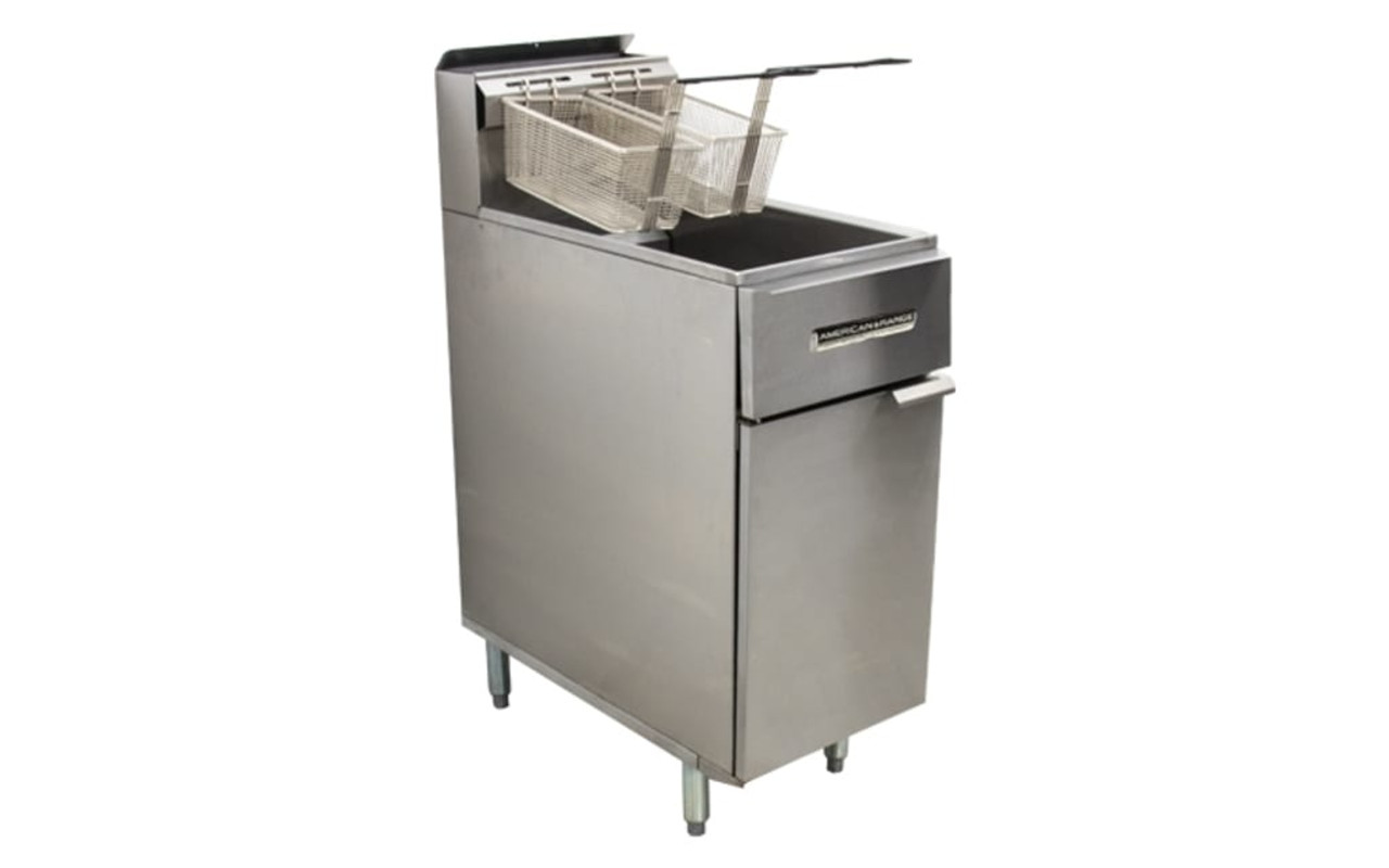 American Range AAF.45W.RM Range Matched Three Tube Burner Gas Fryer