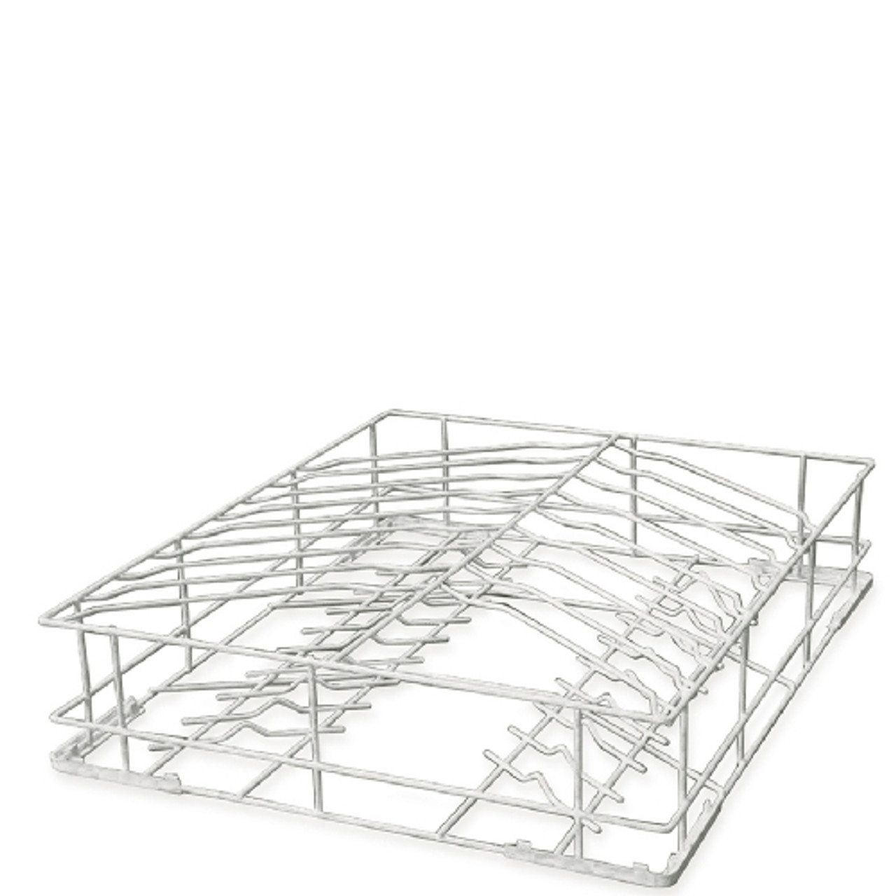 Smeg WB60D02 600x500x125mm 18 Plate Rilson-coated Wire Basket for Smeg Dishwashers - max 320mm Diameter