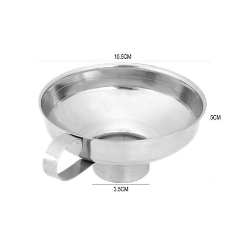 Stainless Steel Wide Mouth Canning Funnel - For standard jars