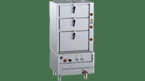 B & S DSK-3 K+ Triple Deck Steamer Including Filter