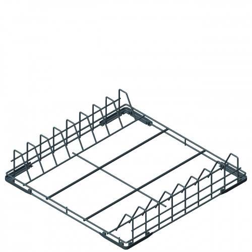 Smeg WB60T03 600x500x100mm Rilson Coated Wire Tray for 7 600x400mm Trays or GN1/1 - For Smeg Dishwashers