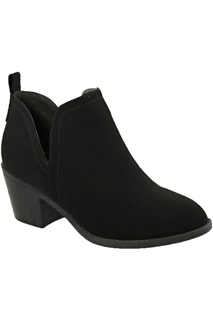 SIDE CUTOUT CASUAL BOOTIE