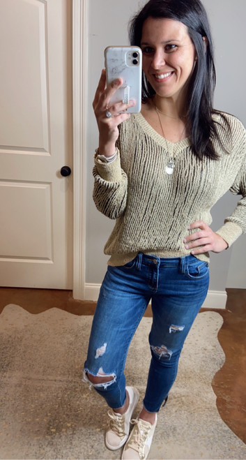 Neutral Knit Sweater