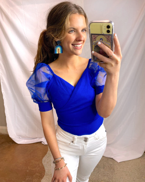 Better With Blue Bodysuit