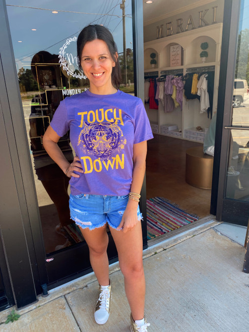 TOUCHDOWN TIGERS TEE