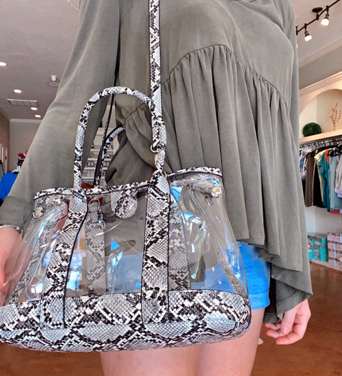 Clear Crossbody/Tote