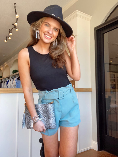 Day Dream Belted Shorts
