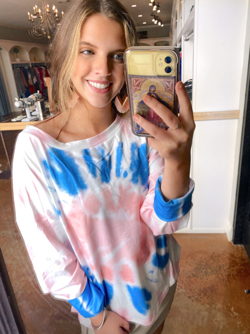 Tie Dye Takeover Top