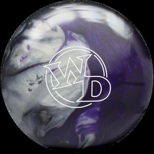White Dot Black Purple Silver™