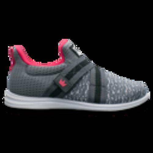 Versa Women's Bowling Shoes - Grey/Pink