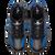Phantom - Black/Royal Carbon Fiber - Right Handed