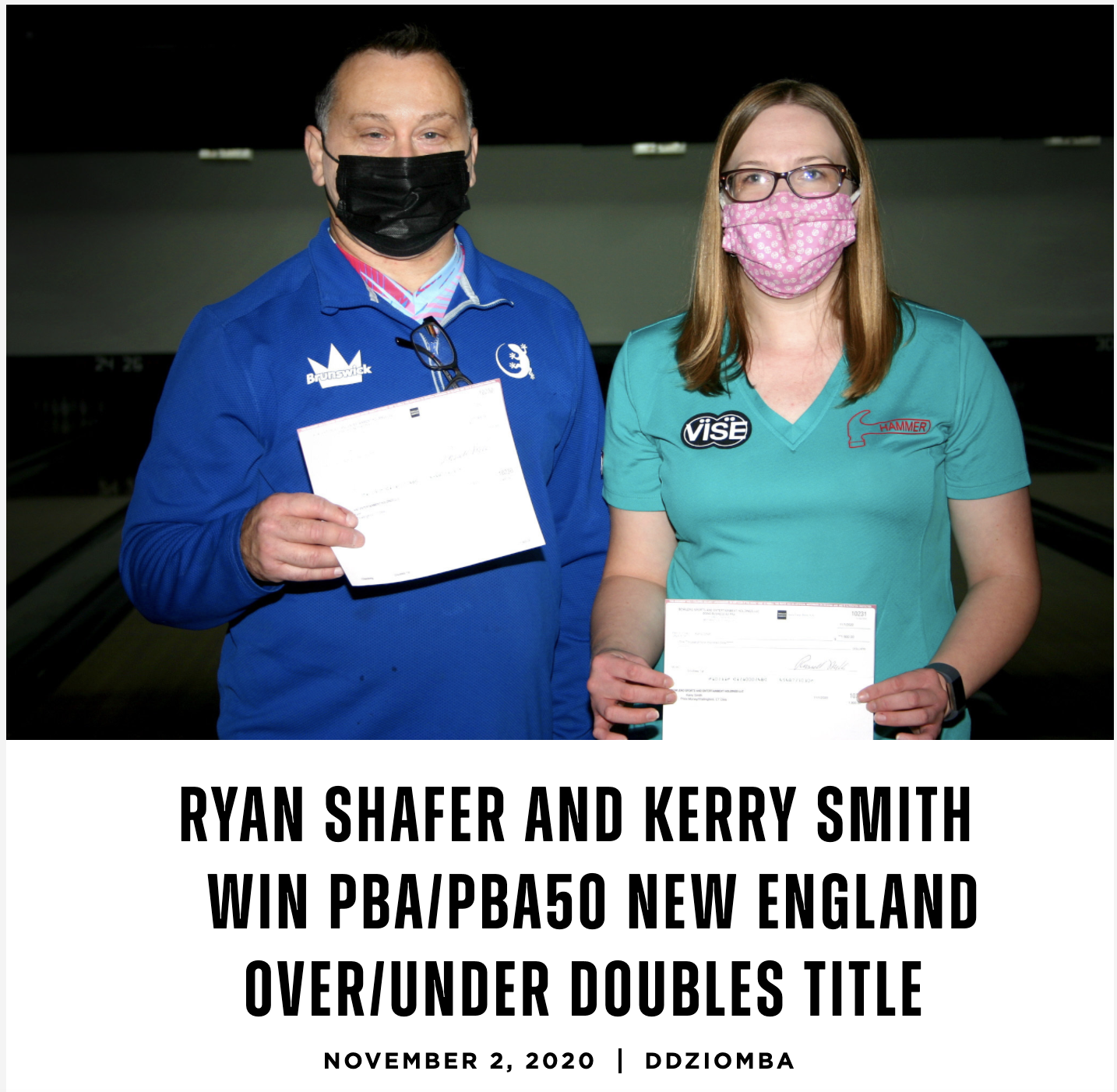 Team Pure It, Kerry Smith, PBA Doubles Title