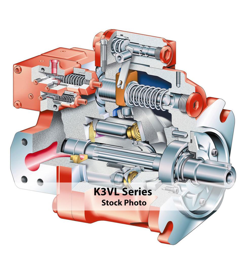 Kawasaki Piston Pump K3VG180DT-10NRS-6000