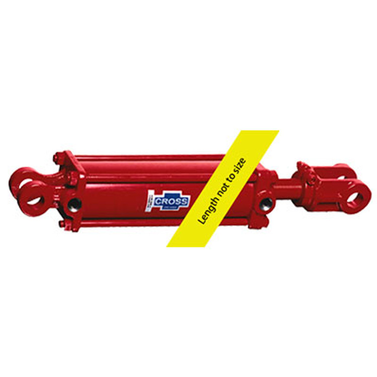 Cross Manufacturing 308DB-ASAE Hydraulic Tie Rod Cylinder