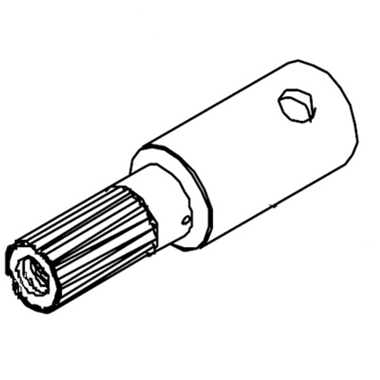 White 520 Series Shaft Assembly 500011107