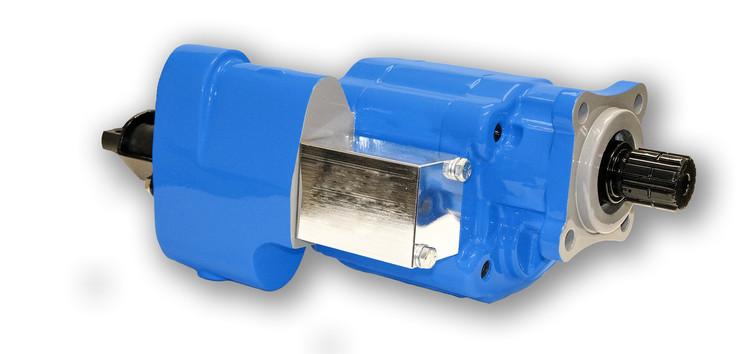 Din Mount Dump Pump with Air Shift - DMDIN-25-X-L-AS-25