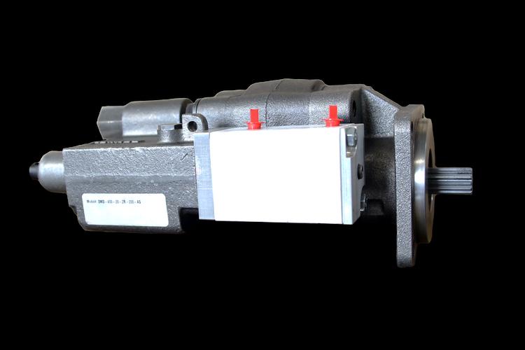 Small Direct Mount Dump Pump DMD-400-20-ZR-200-AS