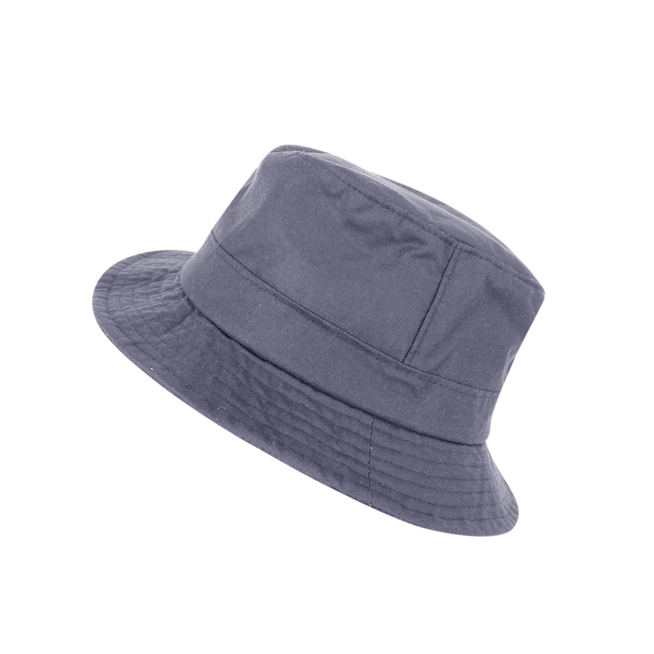 Olive Waxed Fleece Lined Cap With Ear Warmer Navy Brown