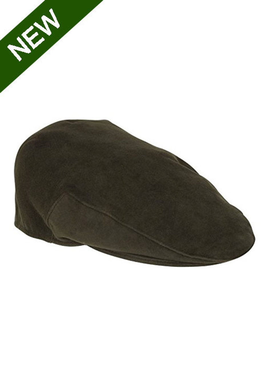 3e378894 Hoggs of Fife Moleskin Flat Cap | Country Clothing and Outdoor Wear