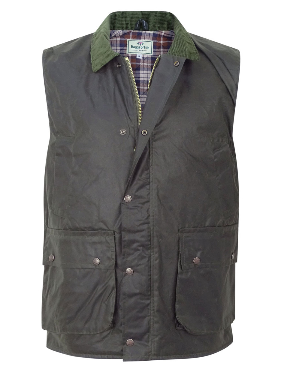 M Mens Fife Tweed Shooting Hunting GiletBodywarmerSizes S L and XL