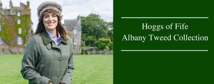 Hoggs of Fife Albany Tweed Collection - A Luxury Range!