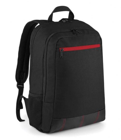 BagBase Metro Backpack - Red/Black
