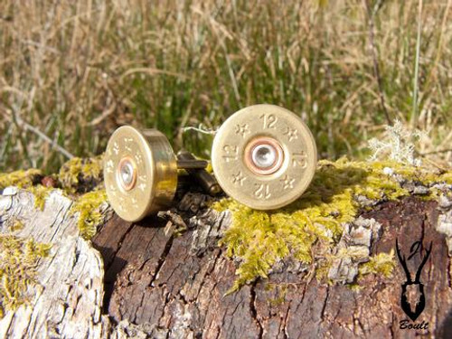 J Boult Designs 12 Bore Shotgun Cartridge Cufflinks