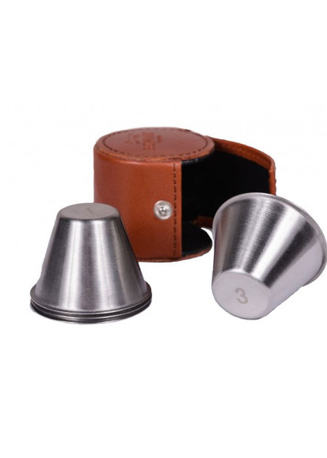 Bonart 4 Piece Small Cups with Case