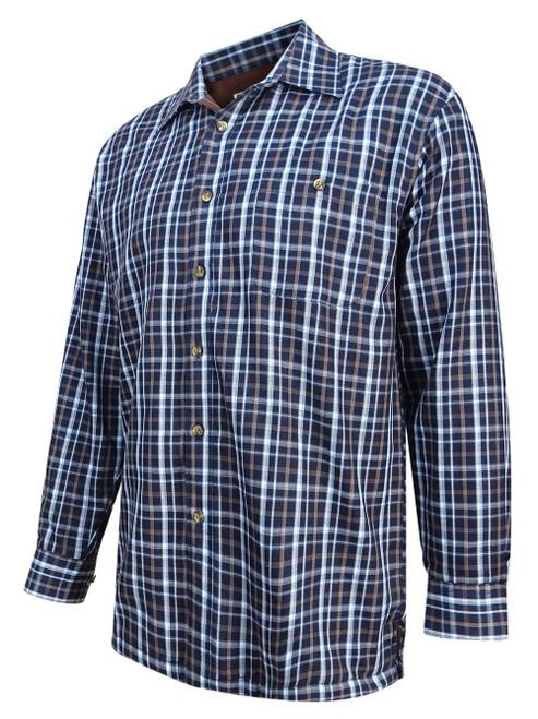 Hoggs of Fife Bark Fleece Lined Shirt