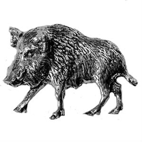 Wild Boar Pewter Pin