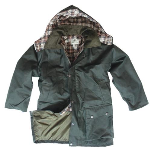Hoggs of Fife Kids Wax Jacket