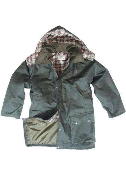 Hoggs of Fife Padded Waxed Jacket (Kids)