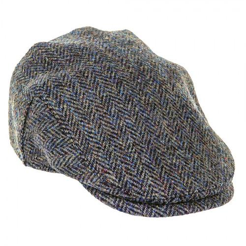 Harris Tweed Flat Cap - Dark Green
