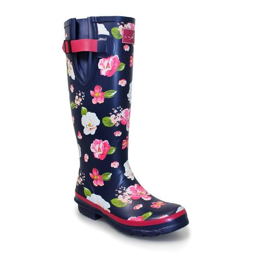 Colour wellington boots