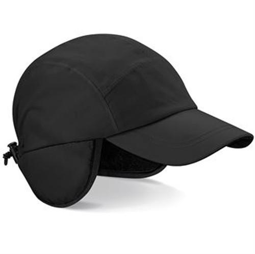 Waterproof & Breathable Mountain Cap - Black