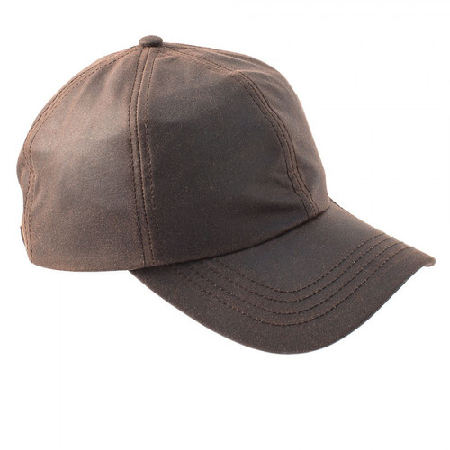 Darley Wax Baseball Cap Brown