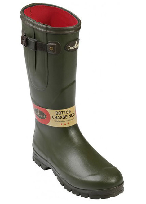 Percussion neoprene wellington boot