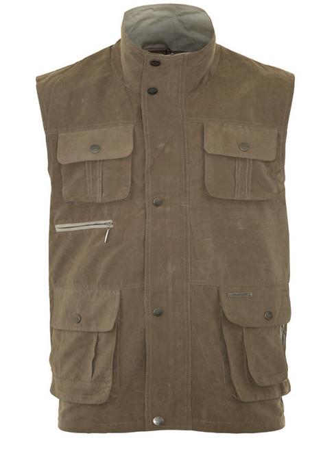 Country Classics Stalker Bodywarmer Gilet Mens Padded Multi Pocket Waist coat