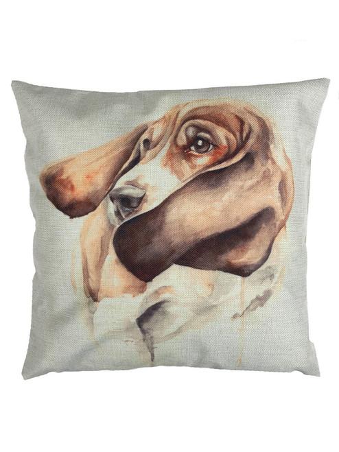 Bassett Hound Cushion