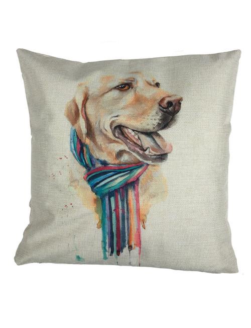 Labrador Themed Cushion