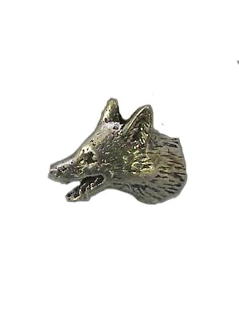 Small Fox Head Pin